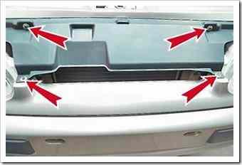 Как снять и установить облицовку радиатора на ВАЗ 2114