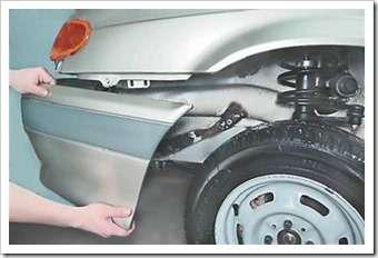 ремонт переднего бампера на ваз 2114