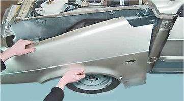 Как снять и установить переднее крыло на ВАЗ 2114