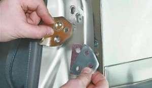 регулировка закрывания передней двери на лада 2114